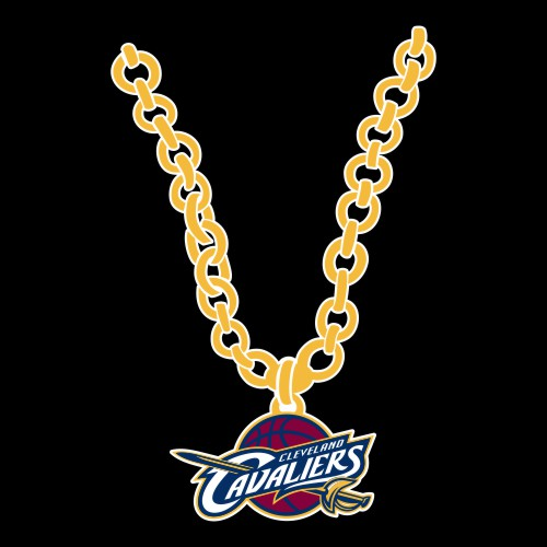 Cleveland Cavaliers Necklace logo iron on sticker