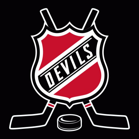 Hockey New Jersey Devils Logo iron on sticker