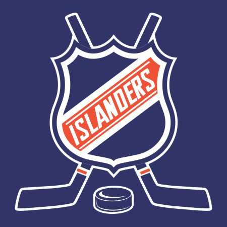 Hockey New York Islanders Logo iron on sticker