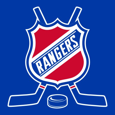 Hockey New York Rangers Logo iron on sticker