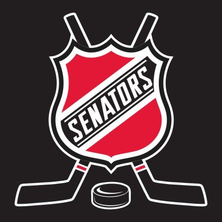 Hockey Ottawa Senators Logo iron on sticker