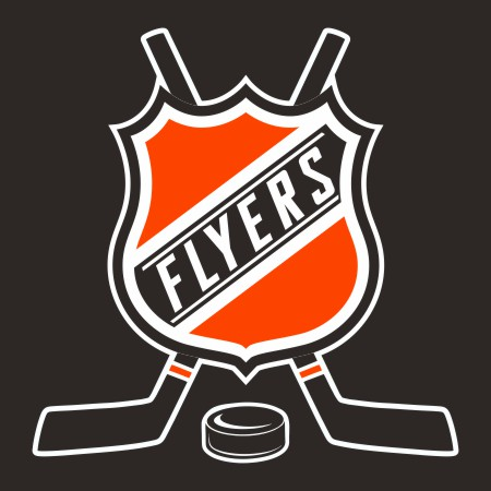 Hockey Philadelphia Flyers Logo iron on sticker