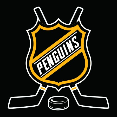 Hockey Pittsburgh Penguins Logo iron on sticker