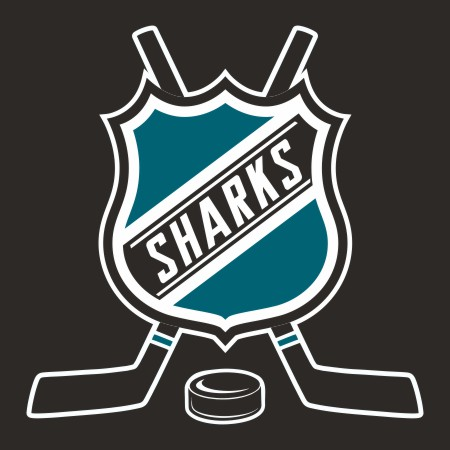 Hockey San Jose Sharks Logo iron on sticker