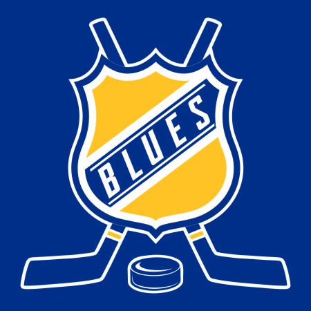 Hockey St. Louis Blues Logo iron on sticker