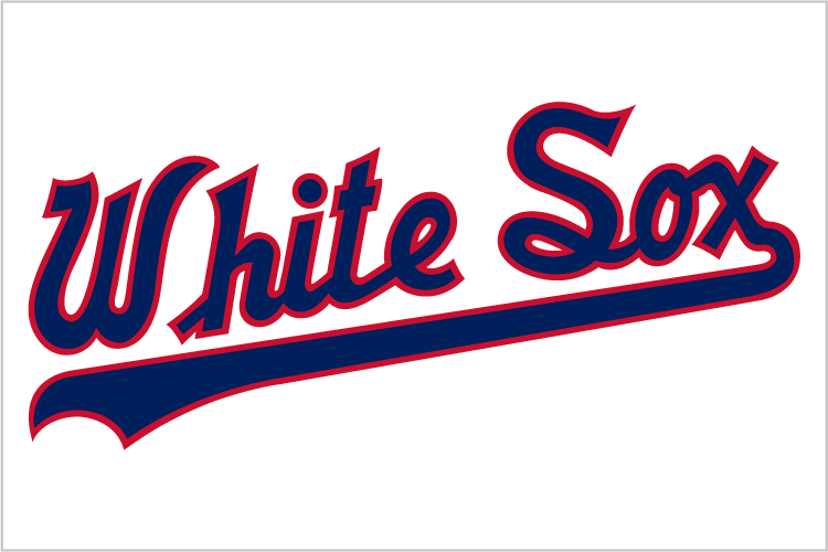 Chicago White Sox 1987-1990 Jersey Logo 01 iron on sticker