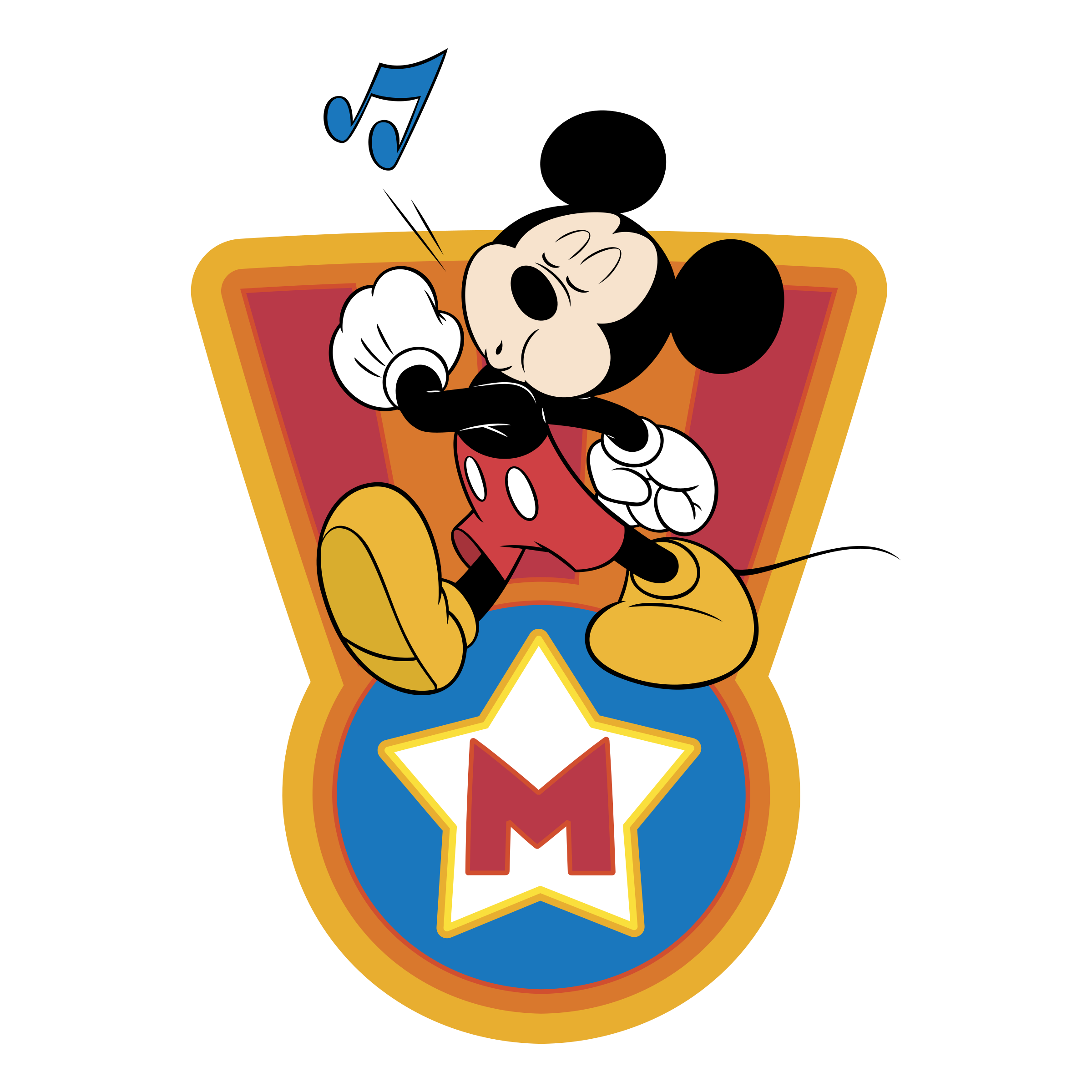 Mickey Mouse Logo 03 decal sticker