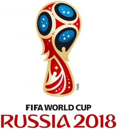 2018 World Cup Russia Primary Logo decal sticker