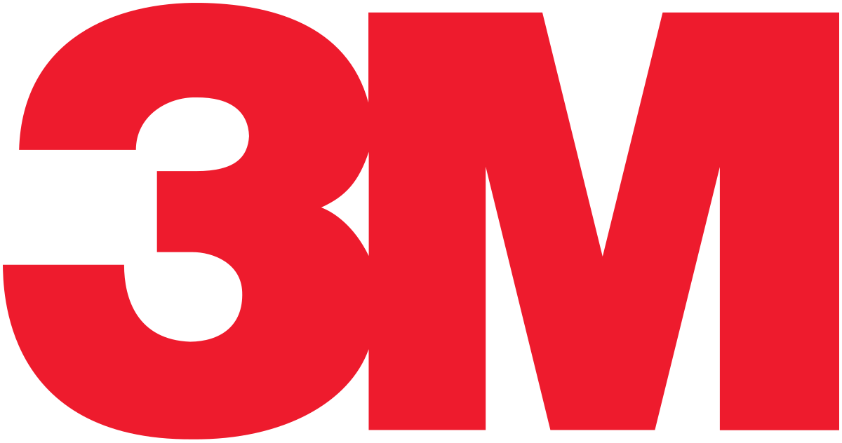 3M brand logo 01 iron on sticker