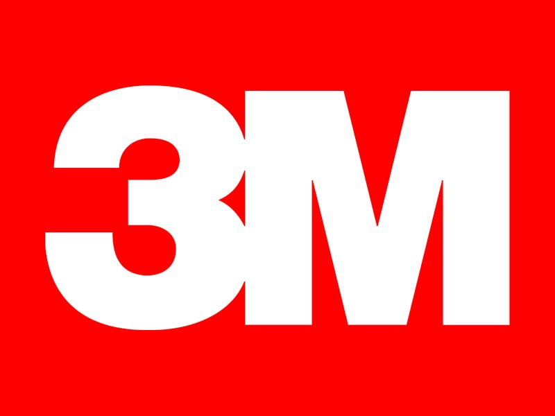 3M brand logo 02 iron on sticker