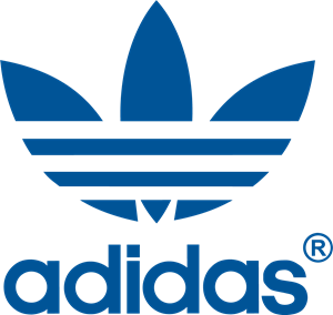 Adidas brand logo 01 iron on sticker