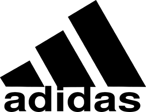 Adidas brand logo 03 iron on sticker