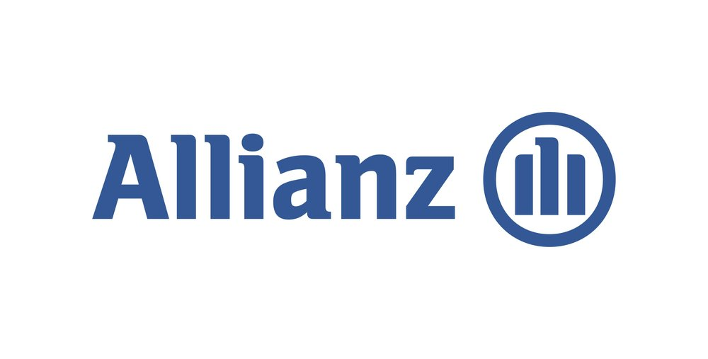 Allianz brand logo 06 iron on sticker