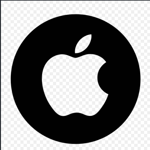 Apple brand logo 01 iron on sticker