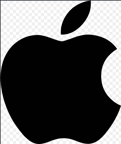 Apple brand logo 04 iron on sticker