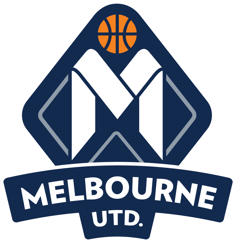 Melbourne United 2014 15-Pres Primary Logo iron on sticker