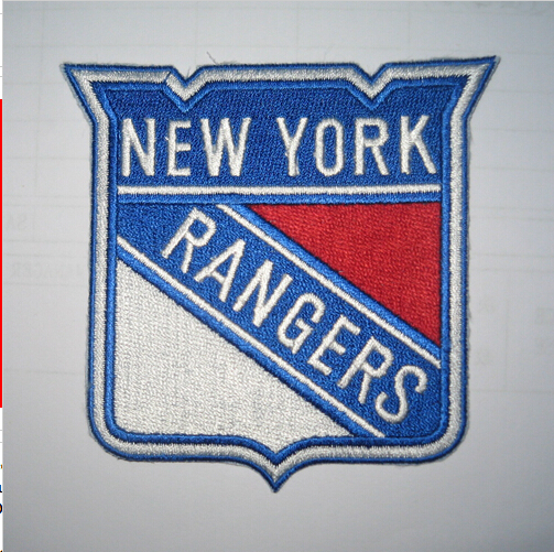 New York Rangers Embroidery logo